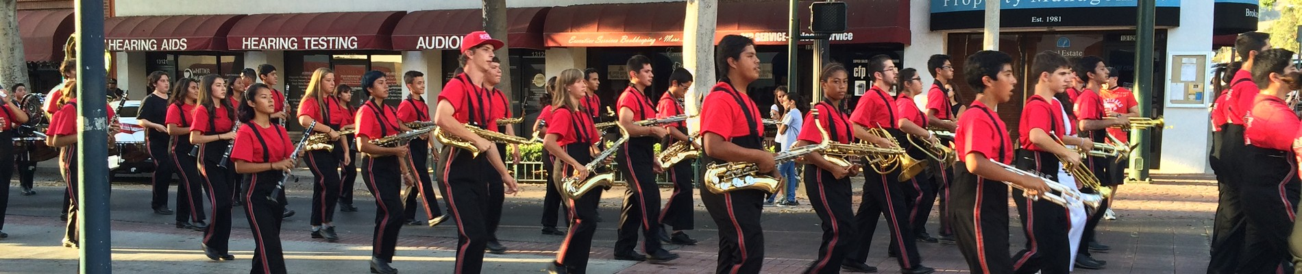 Whittier High School Cardinal Brigade2